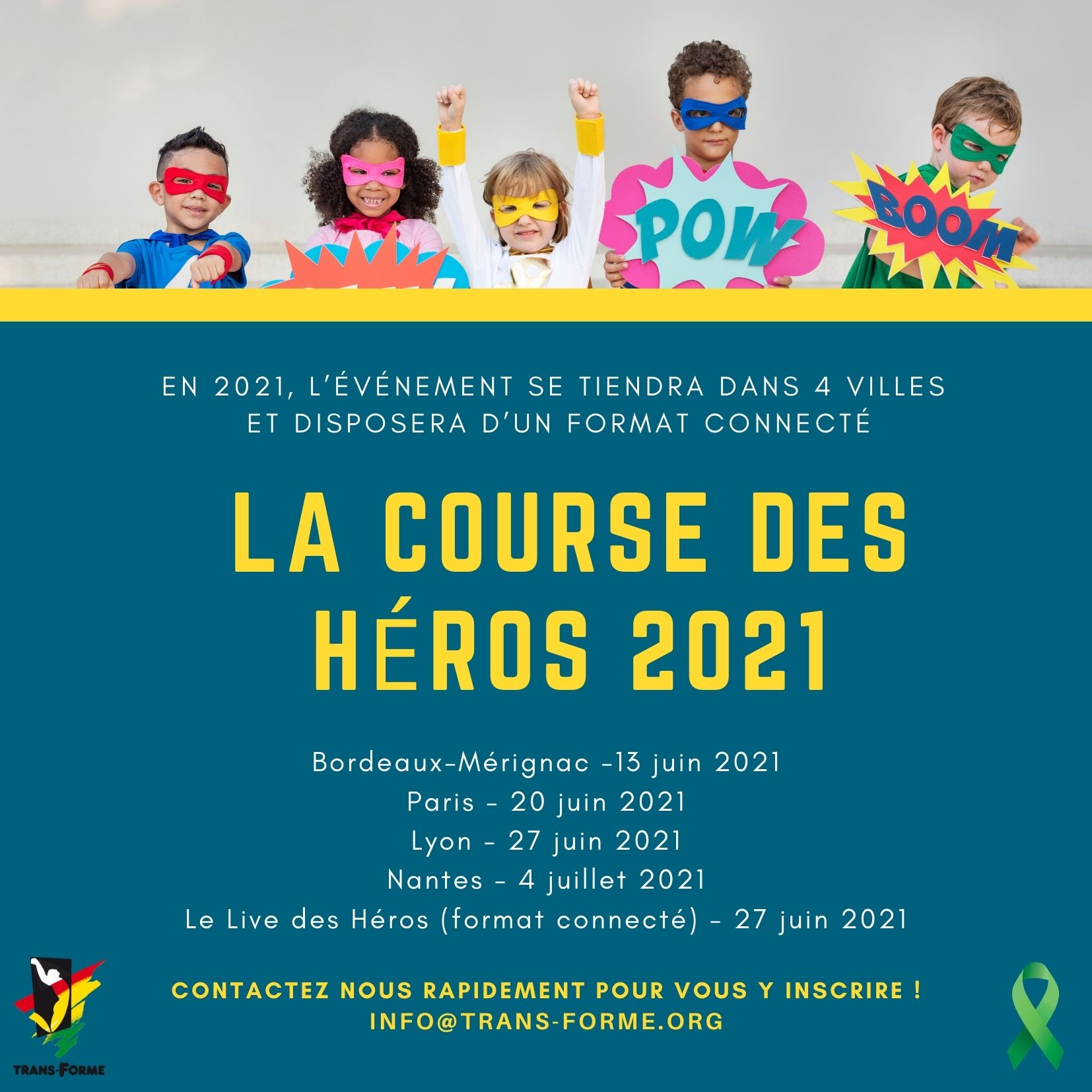 annonce la course des heros 2021